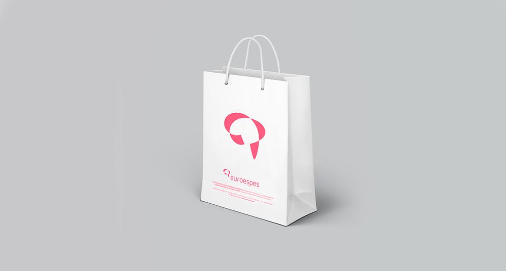 Diseño de bolsa corporativa Euroespes