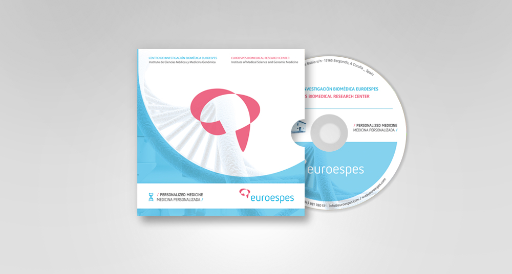 Diseño de caratula para cd Euroespes