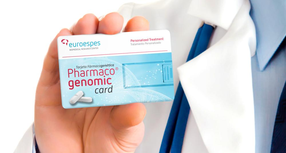 Diseño tarjeta de acceso de paciente Euroespes