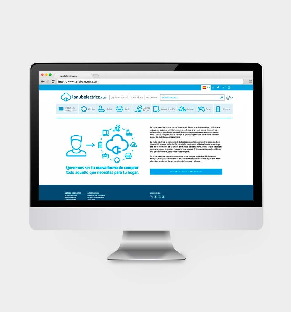 Tienda online de electrodomésticos y elementos electrónicos en la ciudad de La Coruña