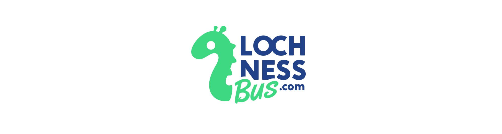 Diseño de logo LochNessBus