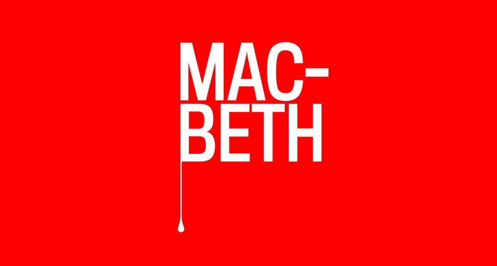 Diseño gráfico para Macbeth en gallego