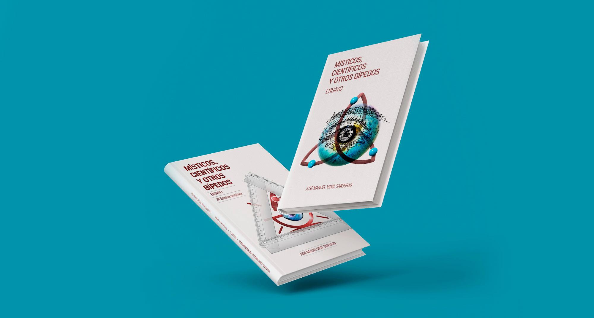 Maquetación y diseño interior para dos libros de un escritor coruñés