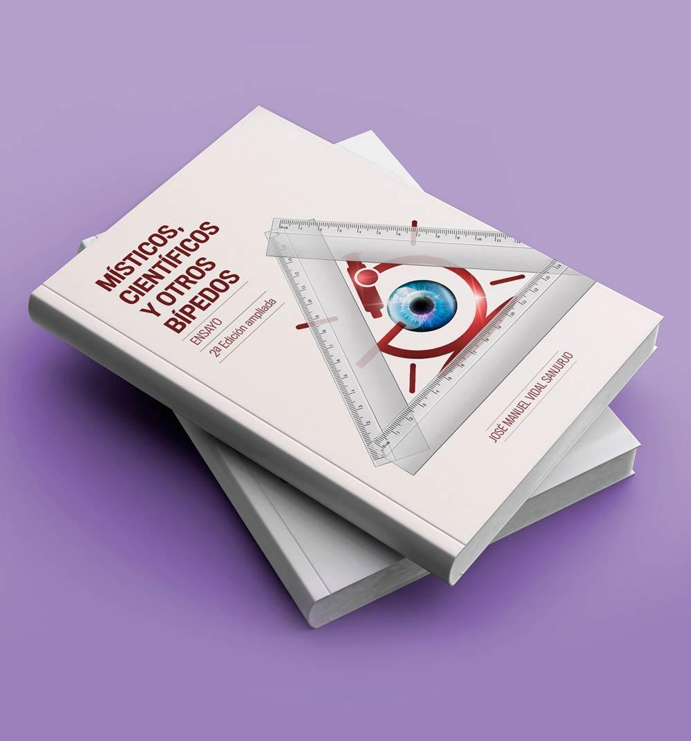 Portada de libro realizada por medio de una fotocomposición donde se une foto e ilustración