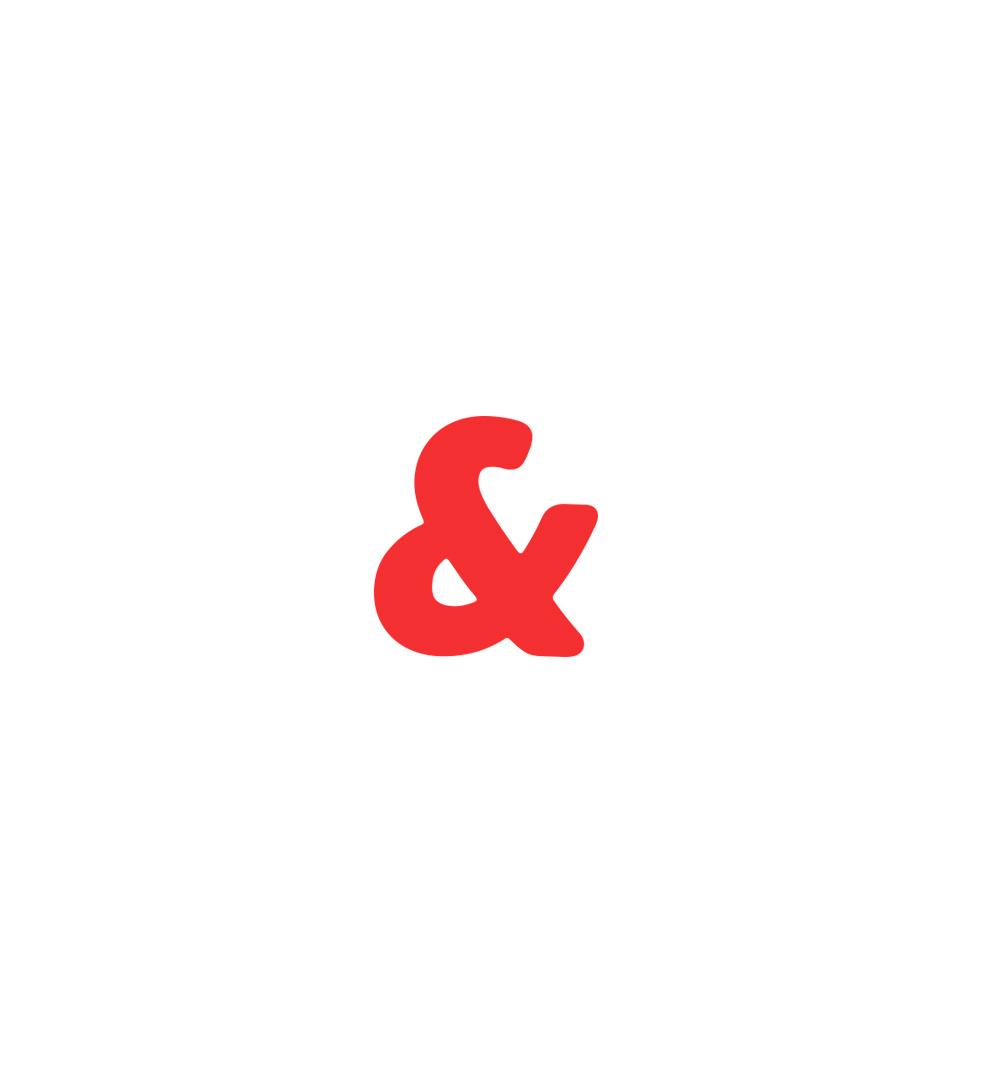 Símbolo del ampersan que forma parte del logotipo de Pick&go