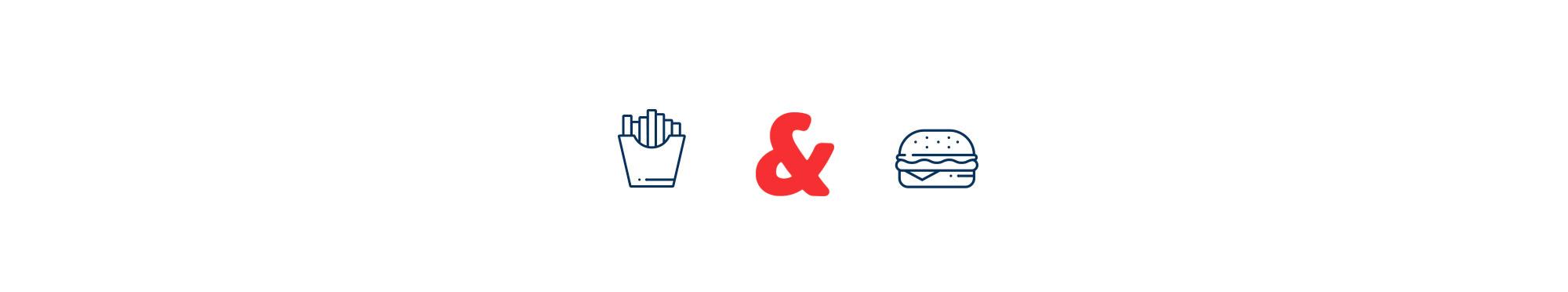 Diseño de iconos para la marca y para emplear en el local