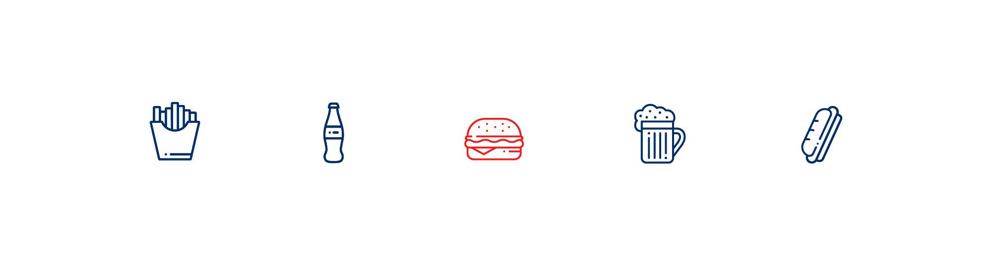 iconos corporativos de la nueva marca