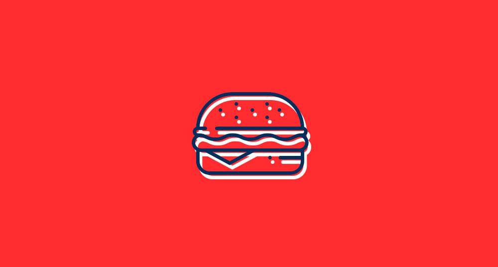 Diseno icono hamburgueseria