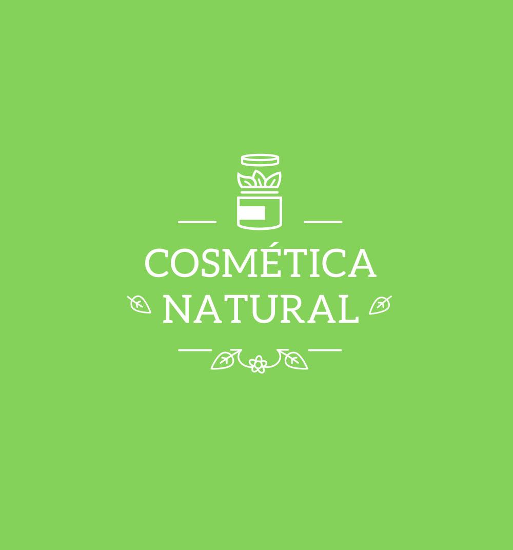 Diseño de carteles de cosmética natural para la tienda