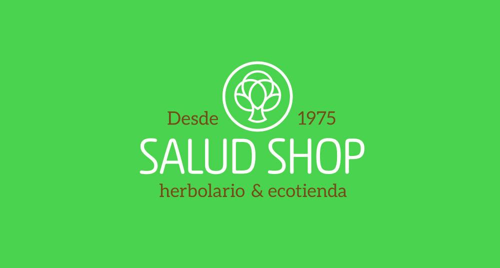 Diseno de marca para ecotienda Saludshop en A Coruña