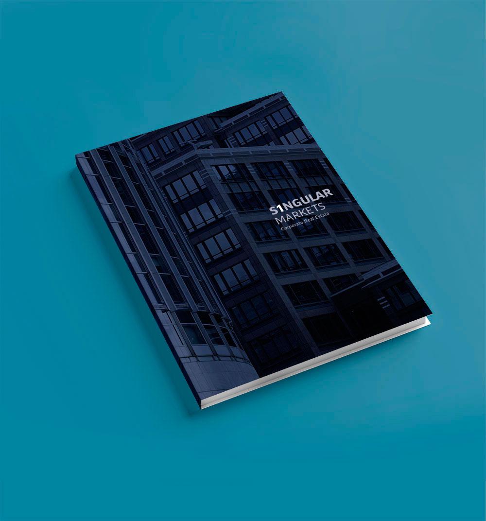 Maquetación y diseño de portadas de libro corporativo