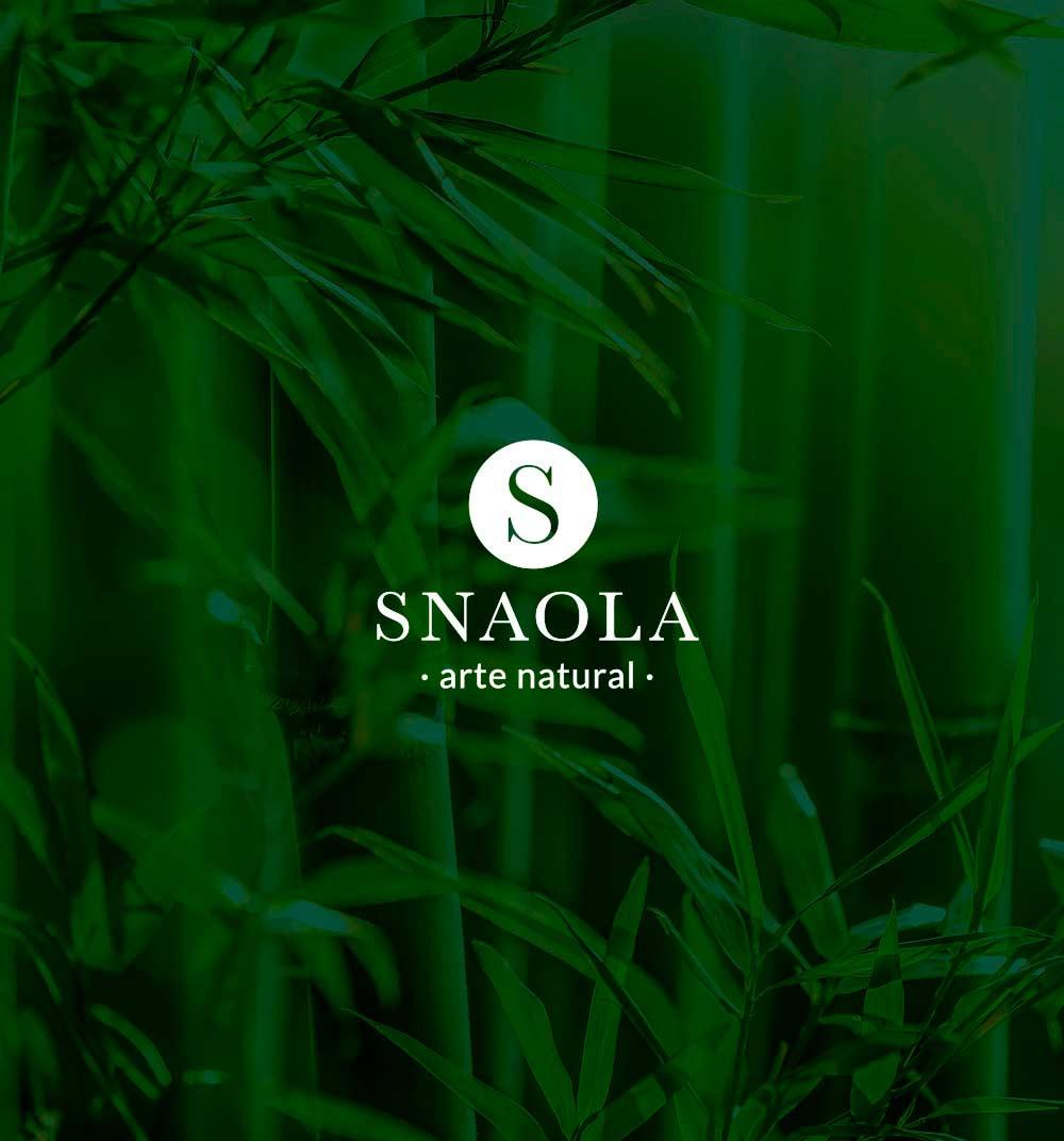 logotipo de peluquería snaola, arte natural en A Coruña