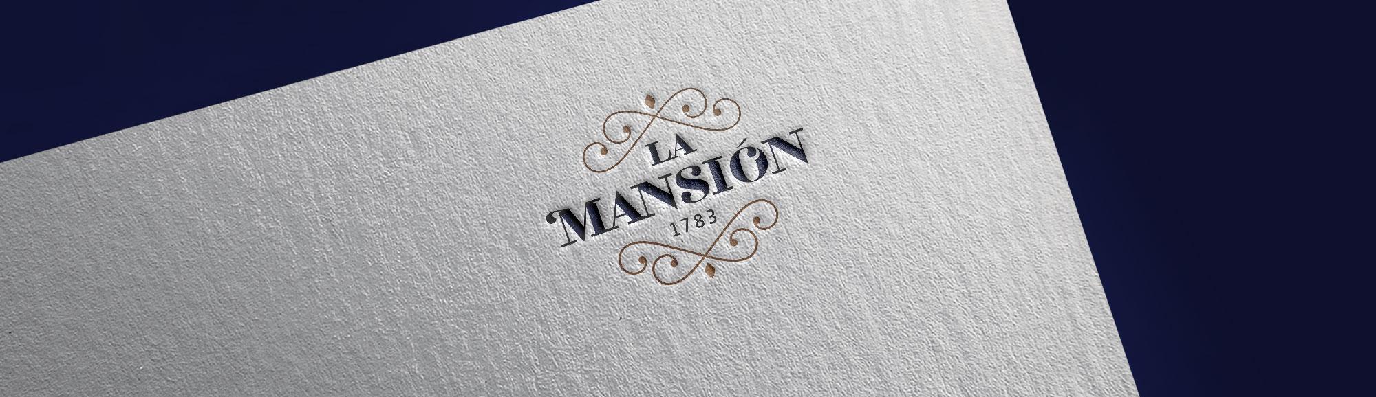 Diseño de marca para restaurante La Mansión en A Coruña