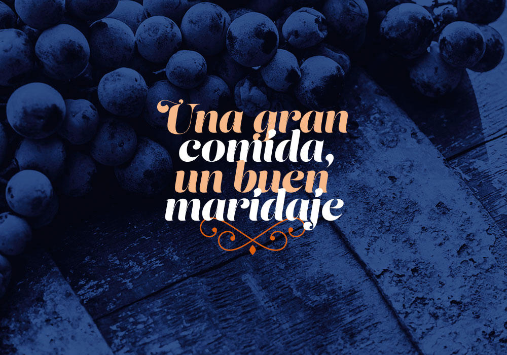 Diseño de carta de vinos para La Mansión en A Coruña