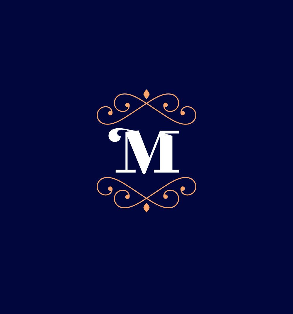Diseño de símbolo de marca La Mansión