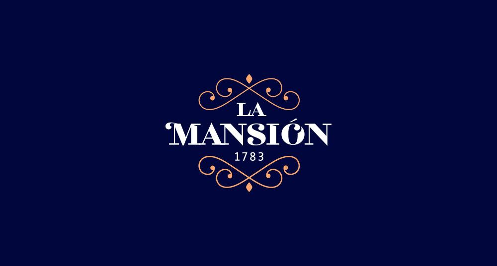 Diseño de marca para restaurante La Mansión de A Coruña