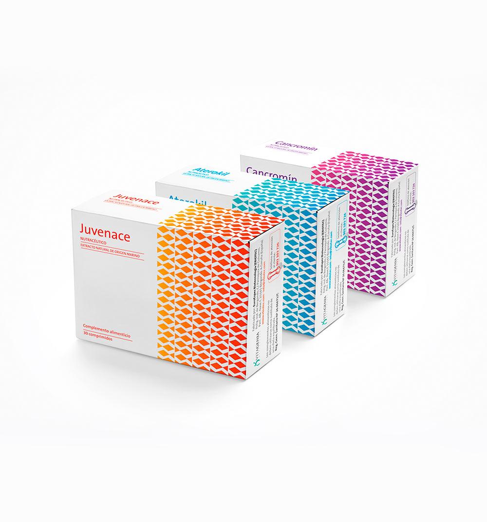 Diseño de cajas de fármacos para laboratorio científico gallego