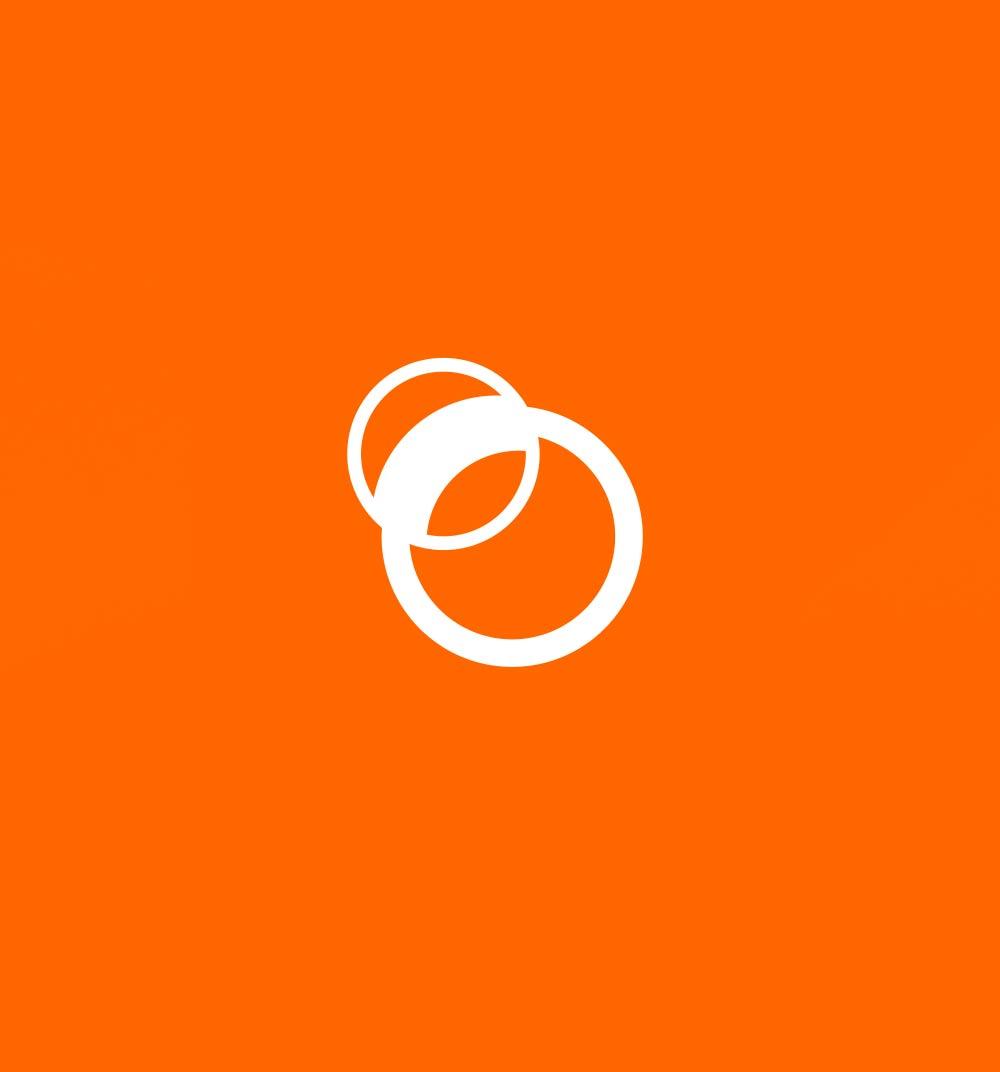 Símbolo de la marca de la óptica