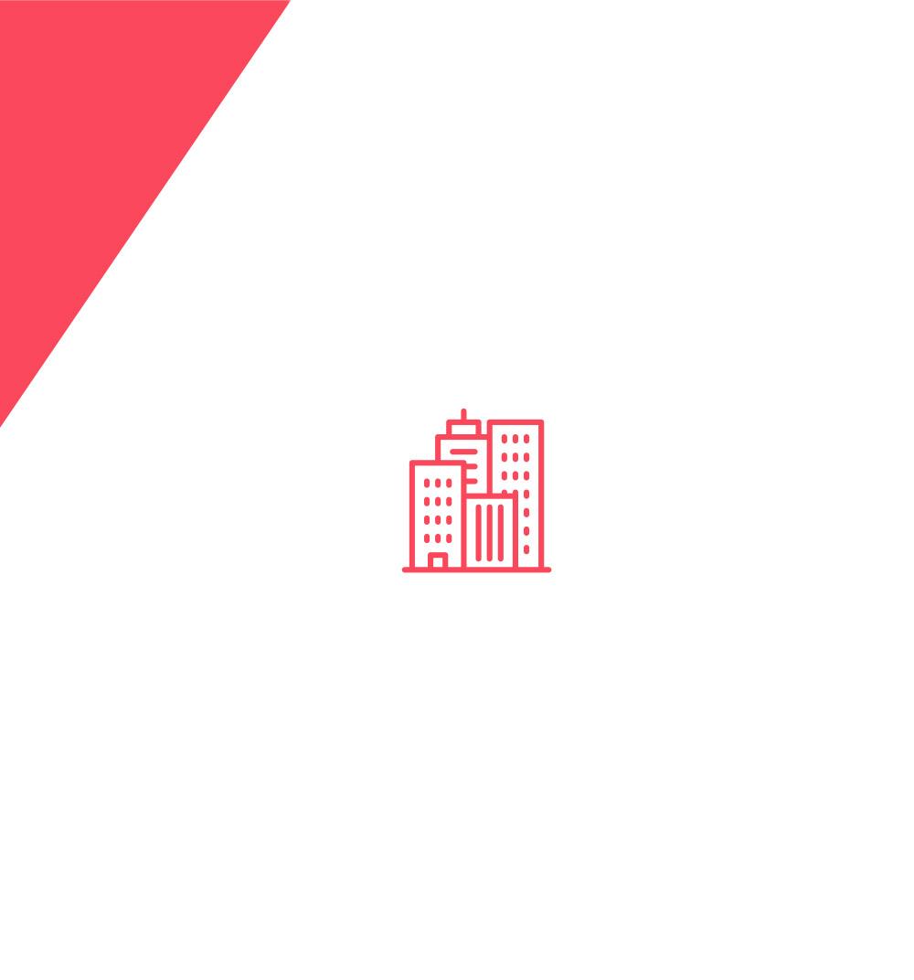 Diseño de icono de skyline de Coruña para el branding de Óscar Otero