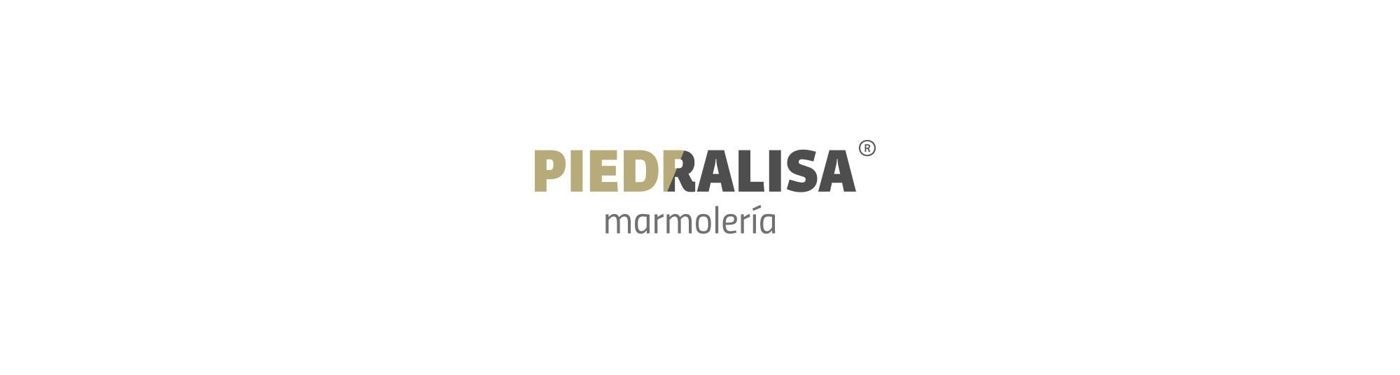 Diseño del logotipo para Piedralisa, una marmolería de la provincia de A Coruña