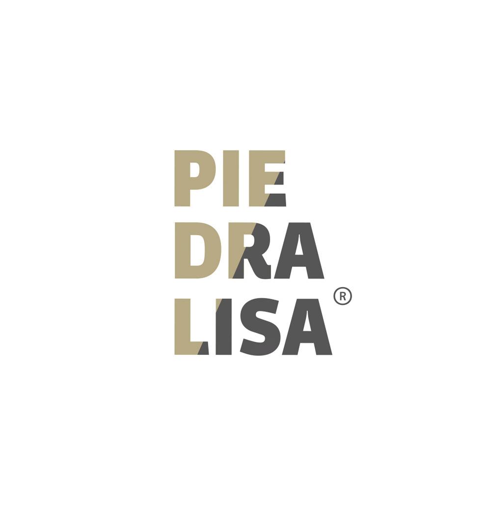 Logo tipográfico para la empresa coruñesa de mármoles Piedralisa