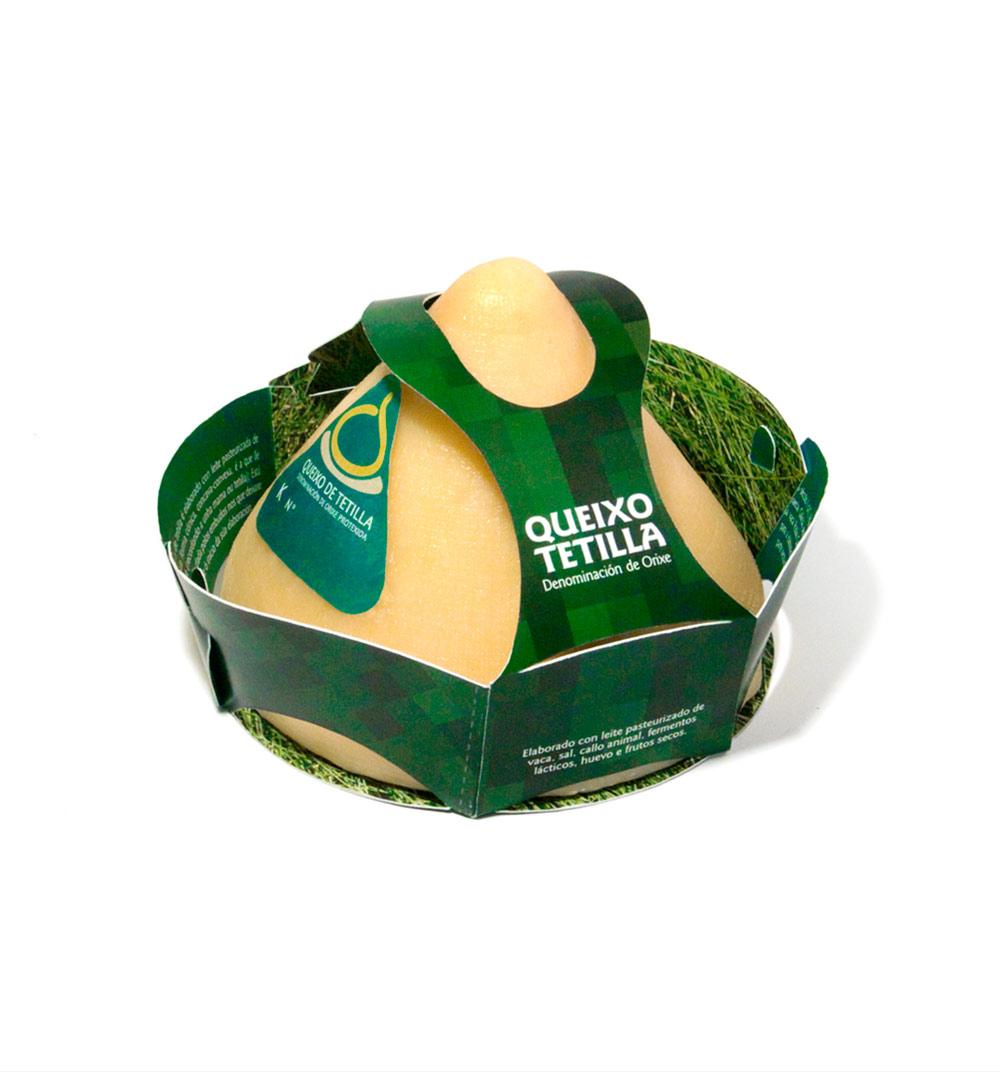 Diseño del envase para queso