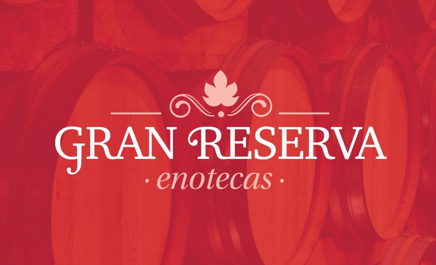 Rediseño logotipo Gran Reserva Enotecas