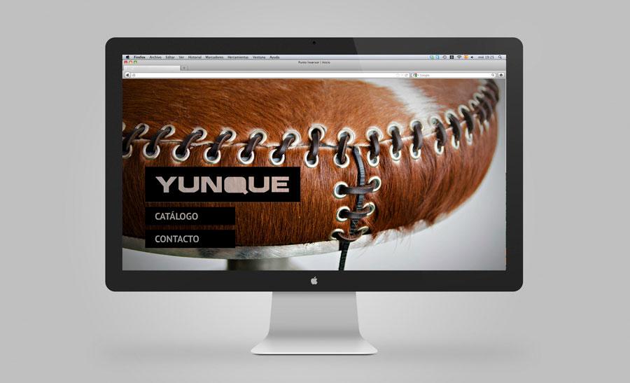 Diseño web móviles Yunque Mobiliario