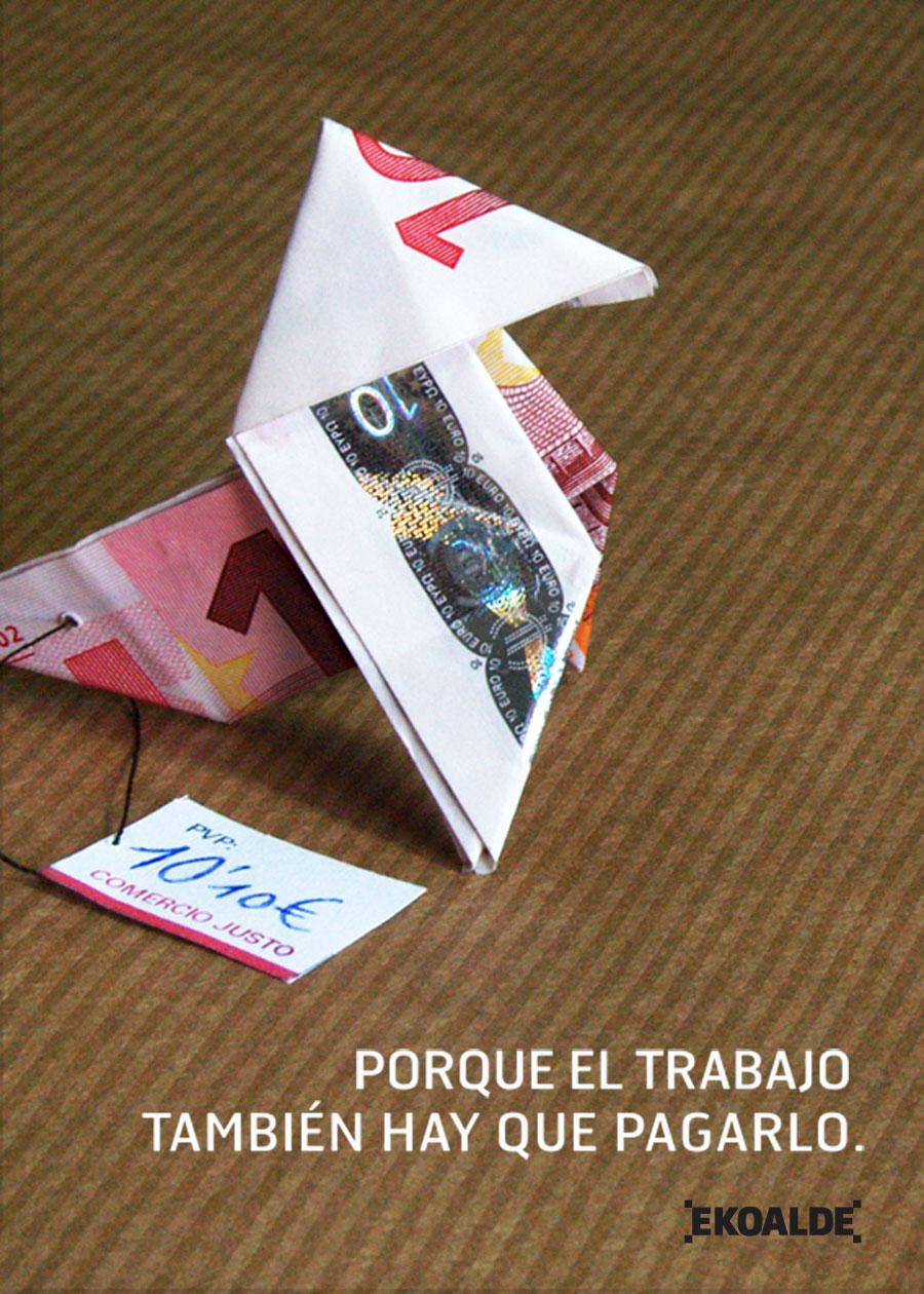 Diseño campaña promoción comercio justo