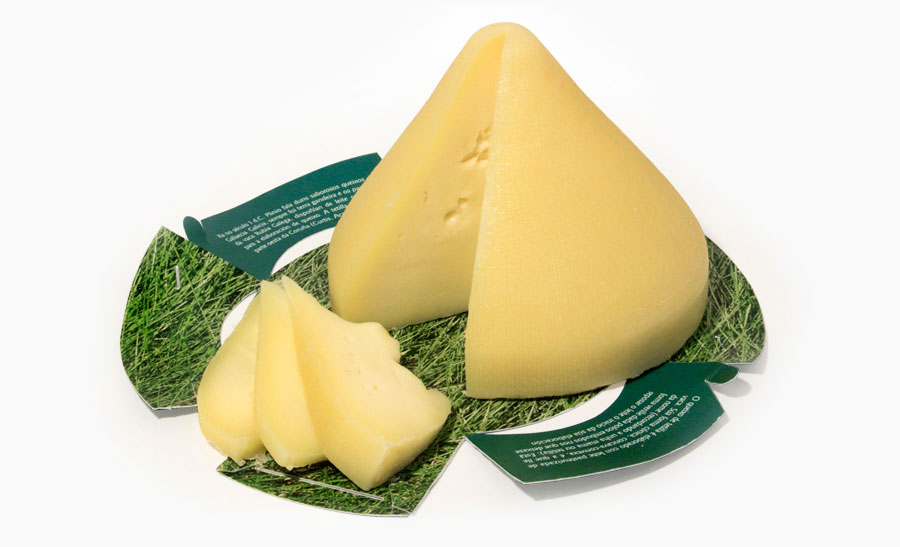 Packaging queso de tetilla