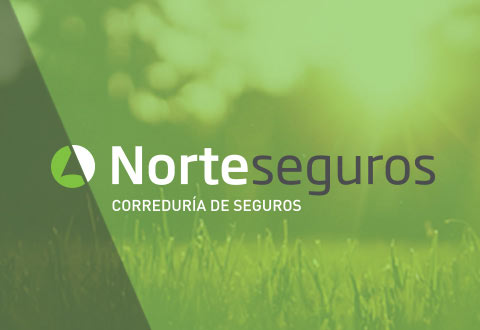 Restyling de indentidad corporativa Norteseguros A Coruña