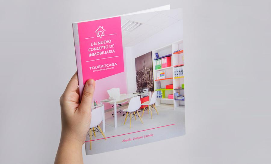 Diseño revista Truekecasa A Coruña