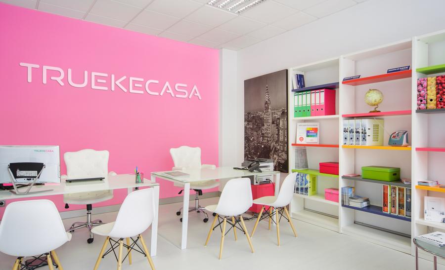 Diseño oficina Truekecasa